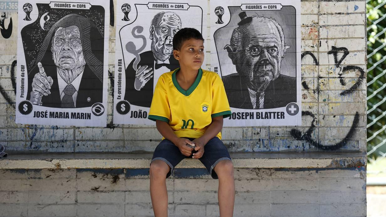 Brot und Spiele – die Stimmung in Brasilien ist euphorisch..  REUTERS/Ueslei Marcelino