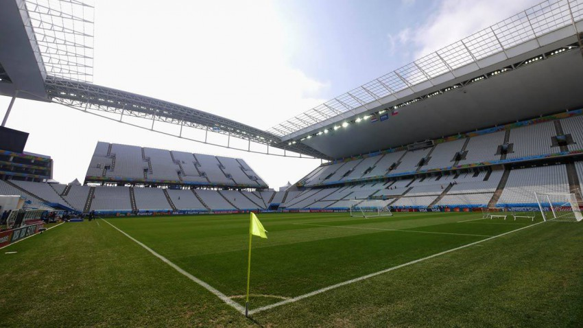 WM Stadion in Sao Paulo
