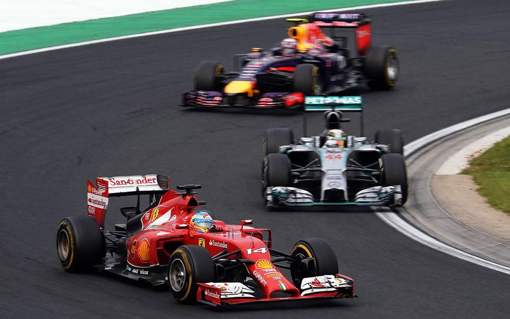 Das Duell um die ersten Plätze in den letzten Runden. © Lars Baron/Getty Images