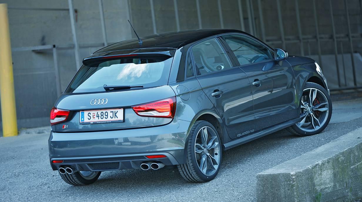 Audi S1 2014 heck hinten heckspoiler rückleuchten felgen