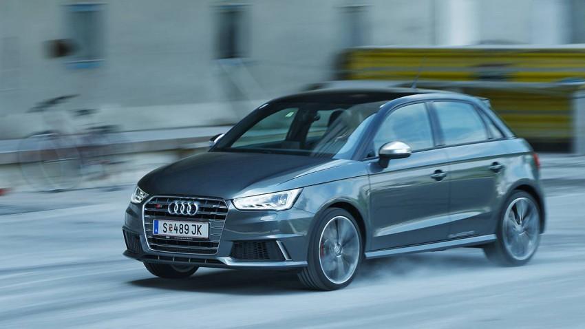 Audi S1 2014 vorne front kühlergrill seite felgen