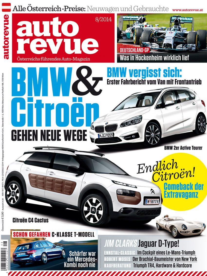 Autorevue Magazin-Archiv: Ausgabe 08/2014