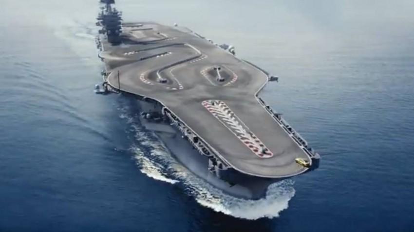Flugzeugträger sind die besseren Drift-Tracks