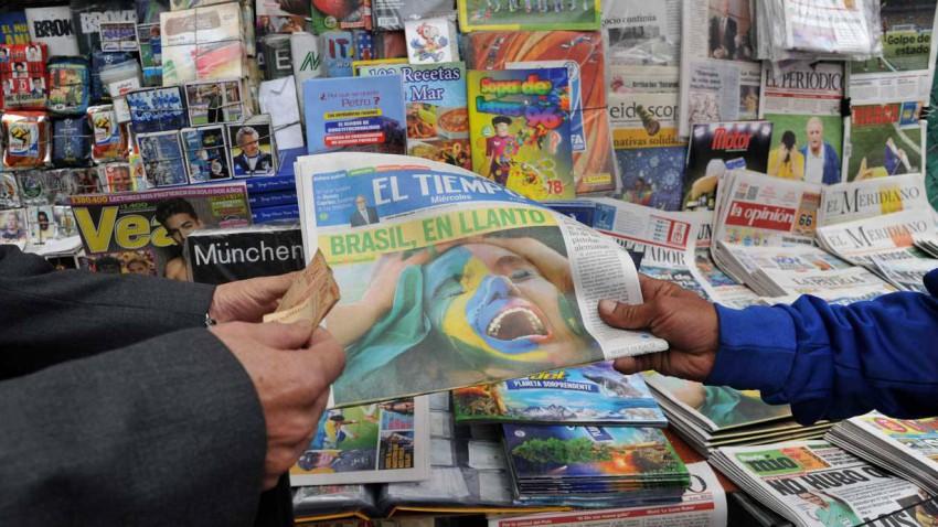 Zeitungen Brasilien