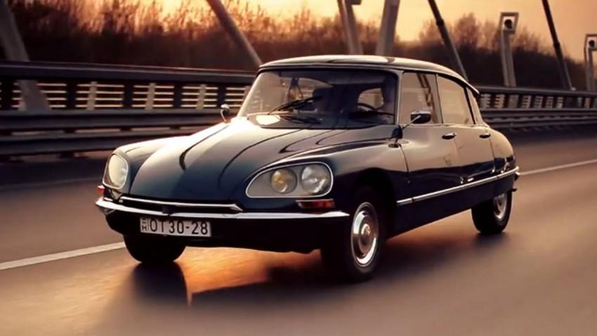 Citroën DS - Unterwegs mit der Göttin