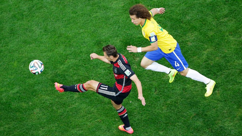 Die Deutschen brauchten keine 30 Minuten um 5 Tore zu schießen. © Felipe Dana - Pool/Getty Images
