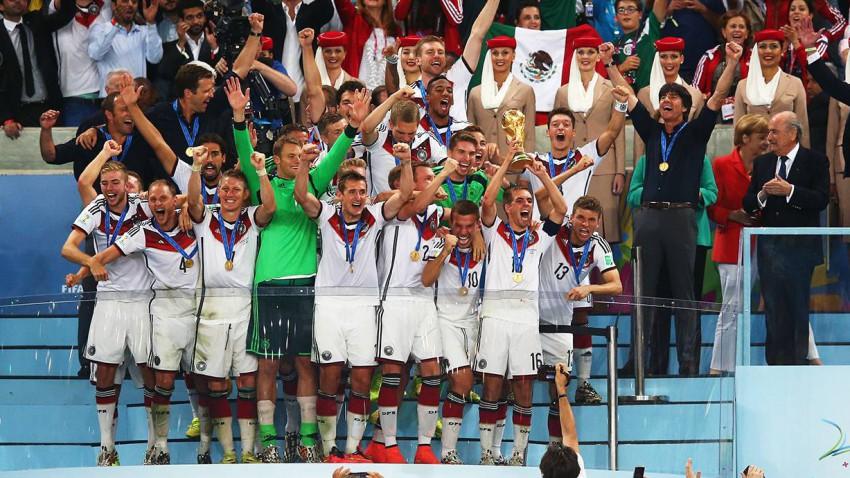 Deutschland ist Fußball-Weltmeister 2014. ©  Julian Finney/Getty Images)