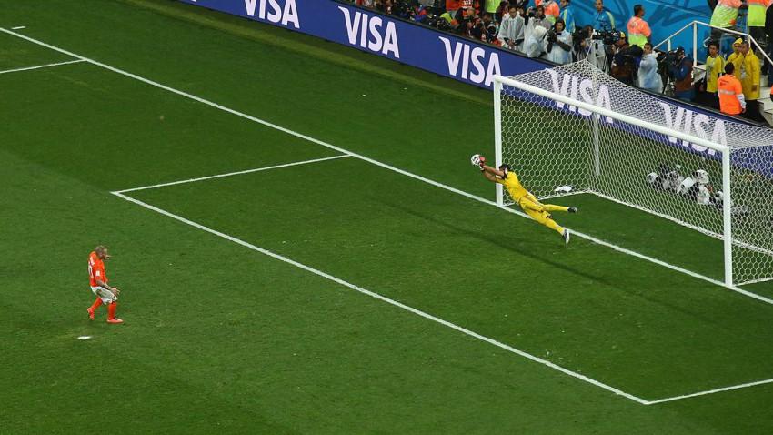 Das Elfmeterschießen Argentiniens gegen Niederlande war das 26. in einer WM-Endrunde seit der Einführung 1982. © Julian Finney/Getty Images