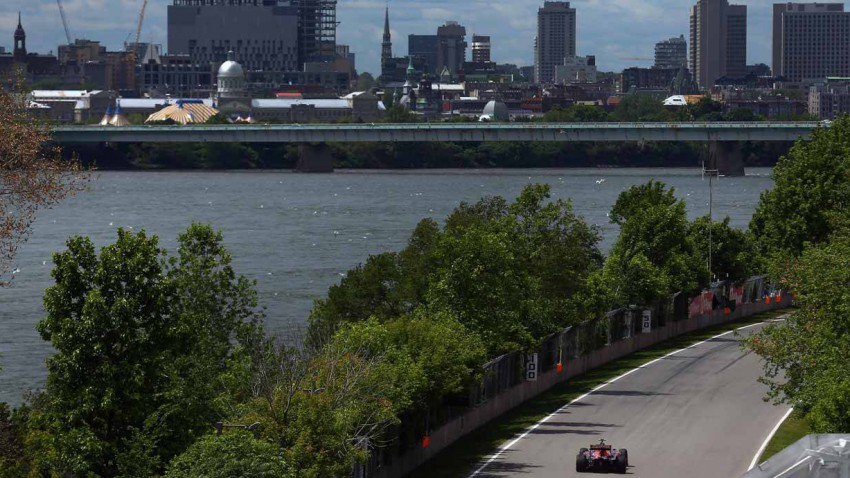 Formel 1 Strecke in Montreal