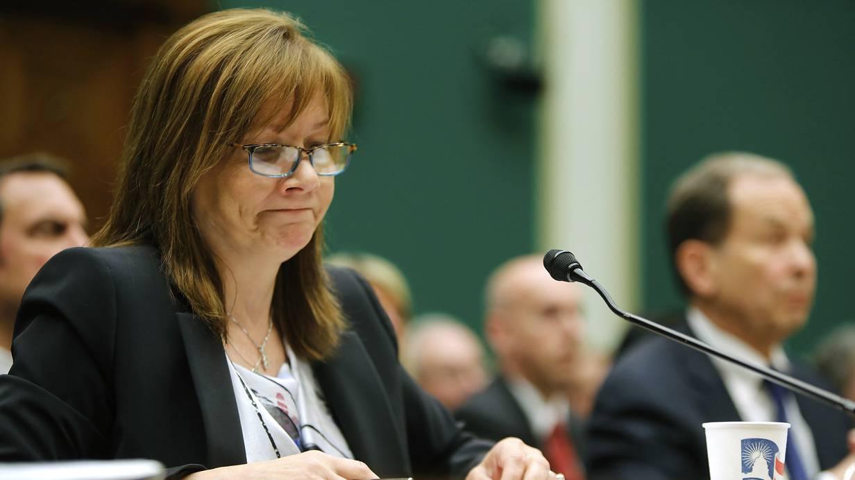 GM Rückruf General Motors Rückrufaktionen Rückrufaktion Marry Barra Zündschloss Zündschlösser Chevrolet