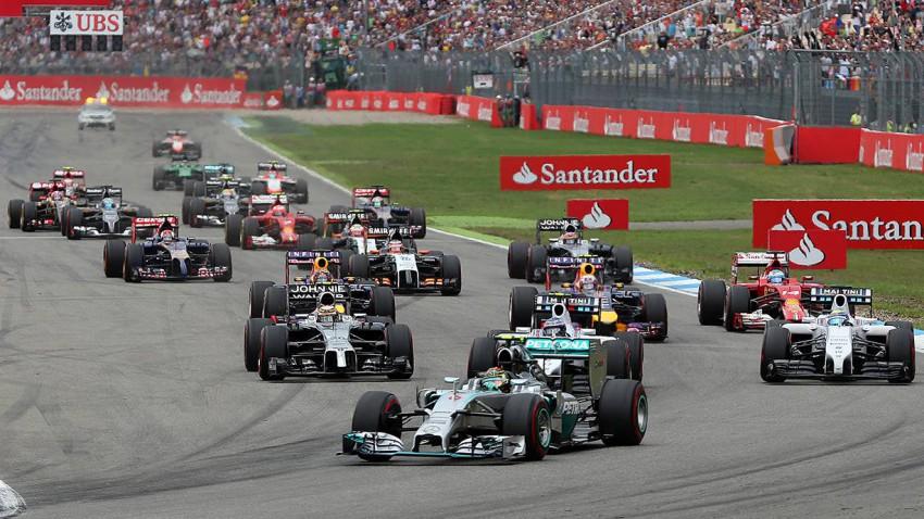 Formel 1 Livestream: GP von Deutschland - Rosbergs erster Heimsieg