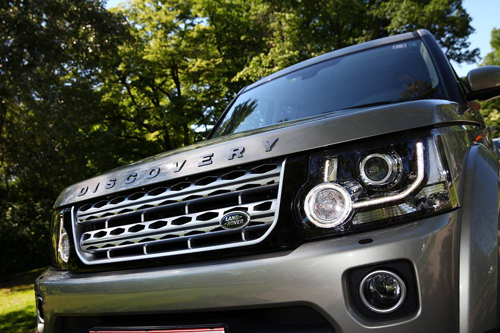land rover discovery 4 3,0 SDV6 HSE 2014 kühlergrill scheinwerfer front