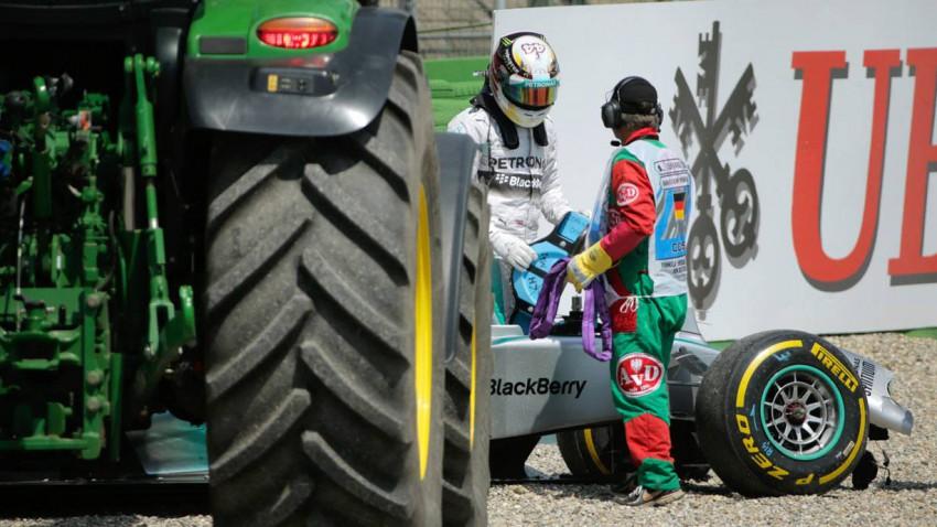 Lewis Hamilton Unfall Hockenheimring Qualifying