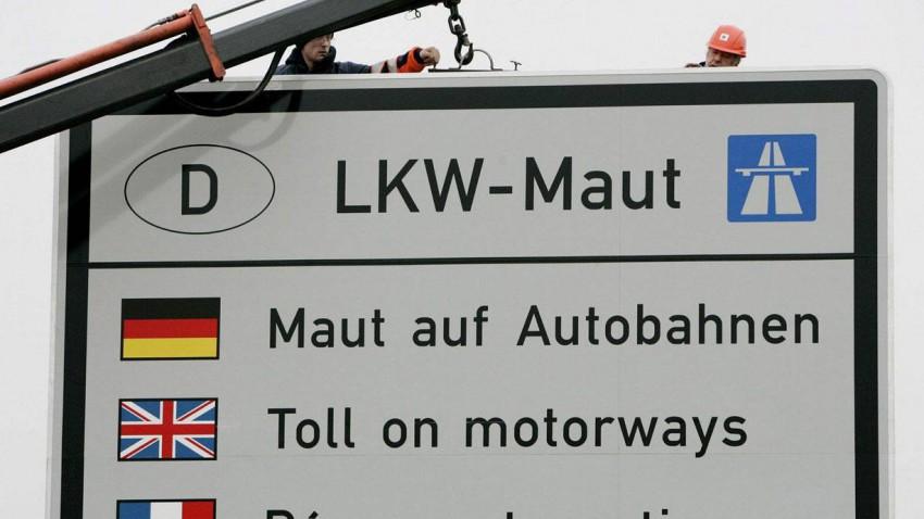 Maut Deutschland Autobahn