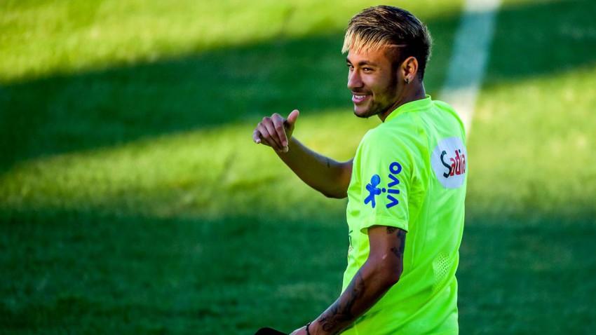 Neymar im Training