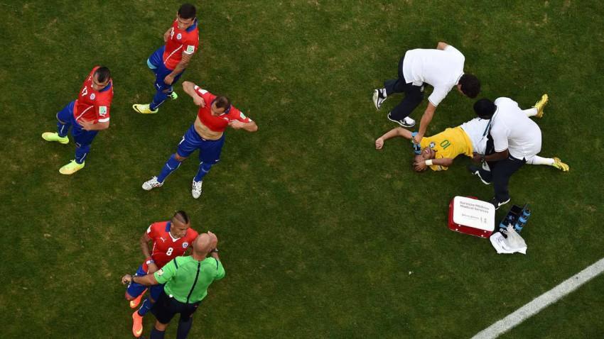 Neymar im Spiel gegen Chile
