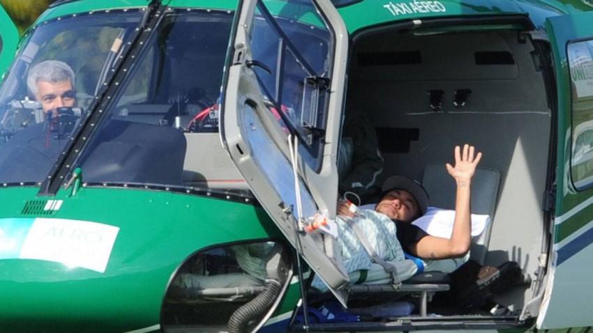 Neymar im Helicopter