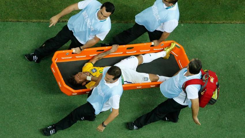 neymar verletzung brasilien wm 2014