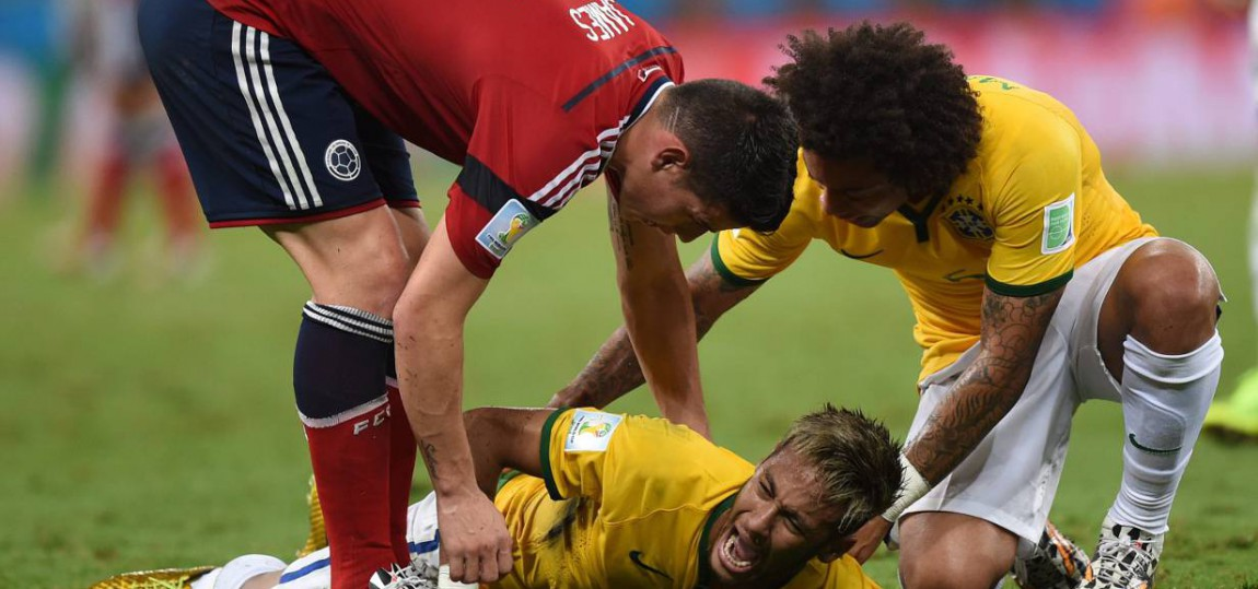 WM 2014: FIFA untersucht Foul an Neymar