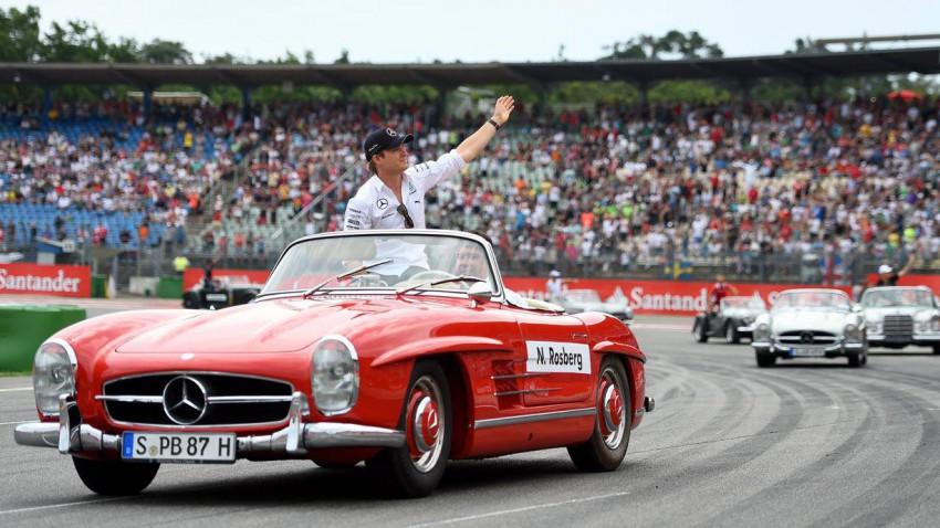 Nico Rosberg auf dem Hockenheimring