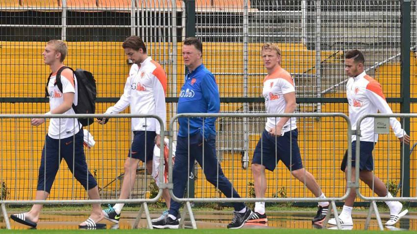 niederlande training brasilien wm 2014