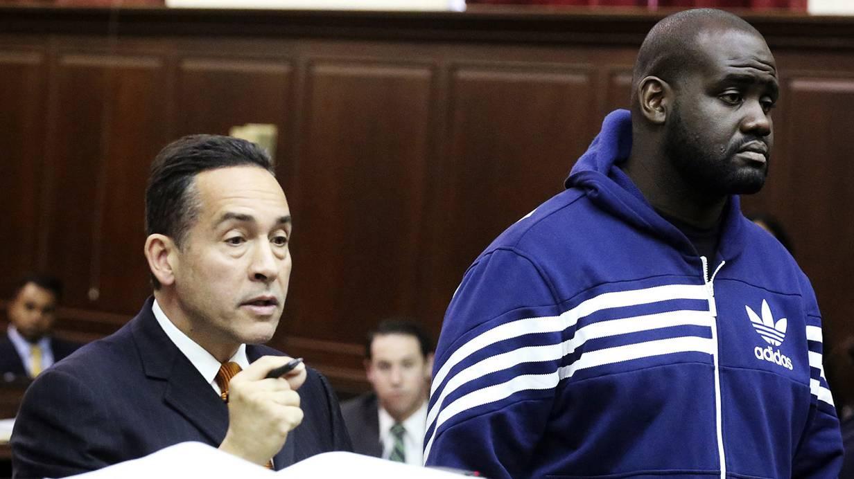 Rechts: Clint Caldwell, einer der Angeklagten.  Foto: REUTERS:Jefferson Siegel:Pool