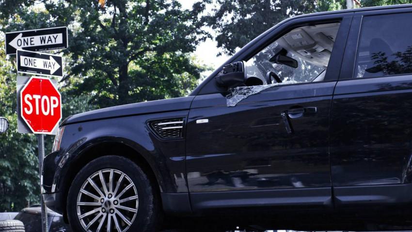 Der Range Rover von Alexian Lien. Foto: REUTERS:Eduardo Munoz