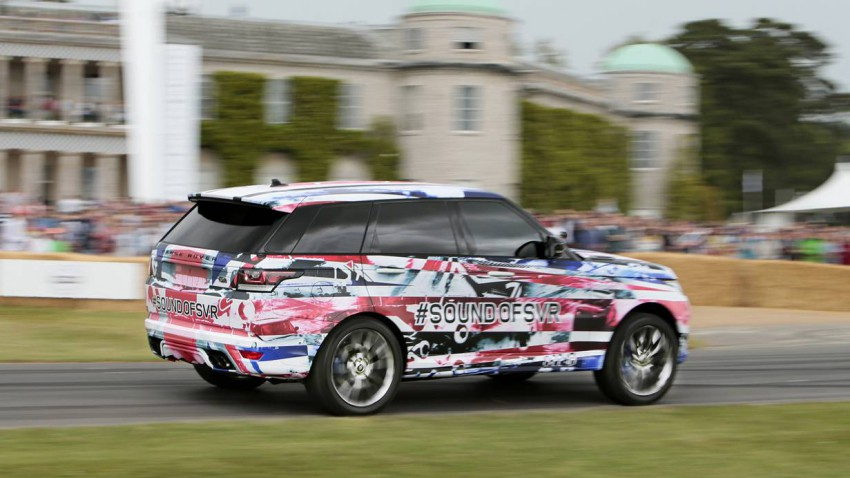 Range Rover Sport SVR Goodwood Festival of Speed