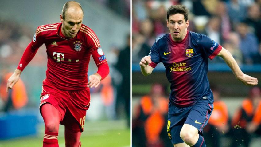 Robben und Messi