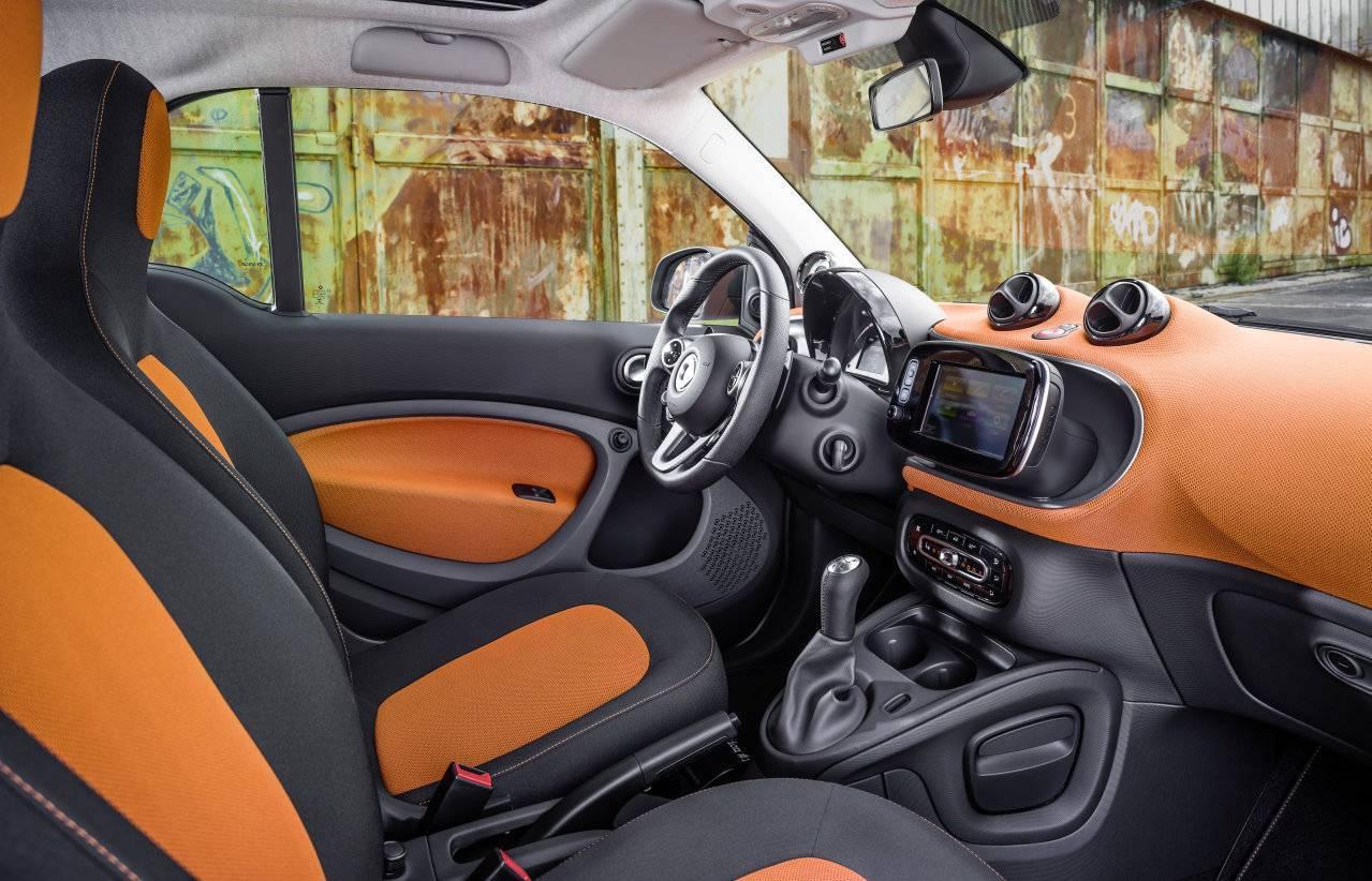 smart 2015 innen innenraum sitze cockpit