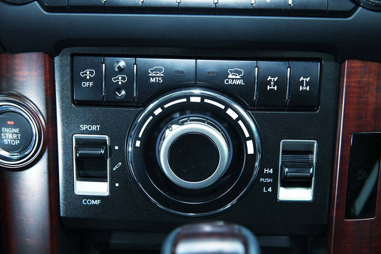Toyota Landcruiser 3,0 D-4D Elegance 2014 mittelkonsole bedienelemente