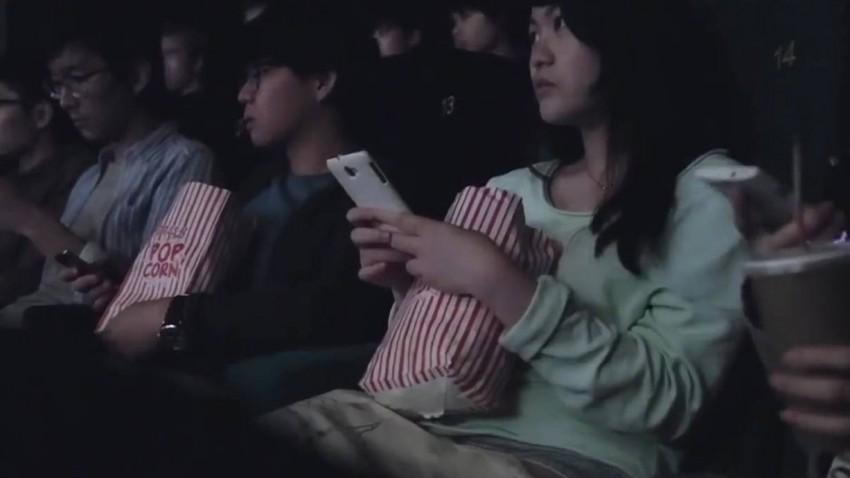 Video: Verkehrsunfall im Kino