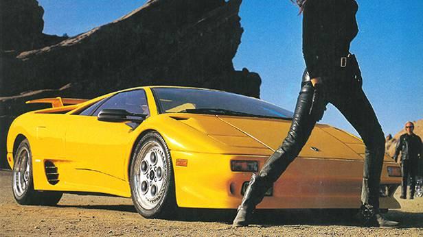 1992 - Castrol TXT und Lamborghini Diablo