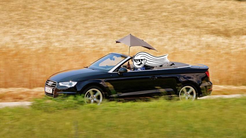 Audi A3 Cabriolet TDI quattro Attraction seite vorne front