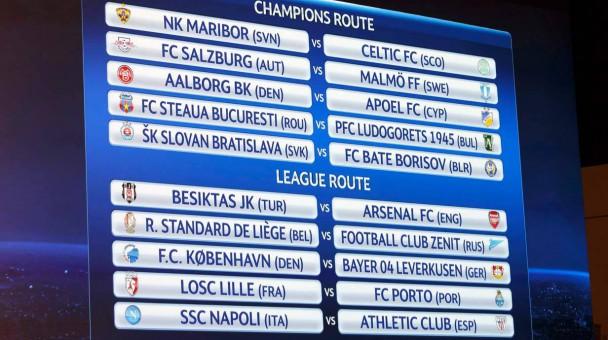 ergebnisse champions league qualifikation