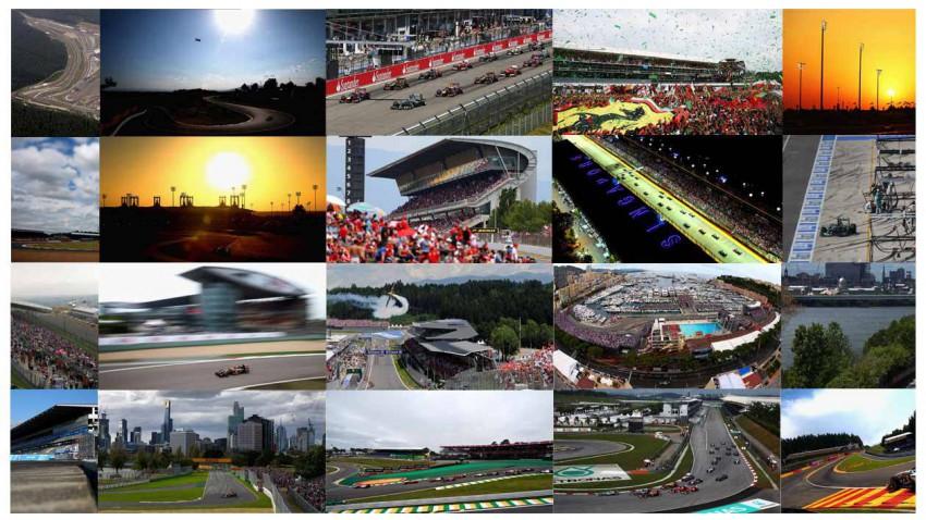Wo die Formel 1 im Kreis fährt.