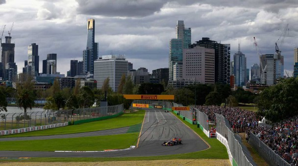 Formel 1 Australien Strecke melbourne