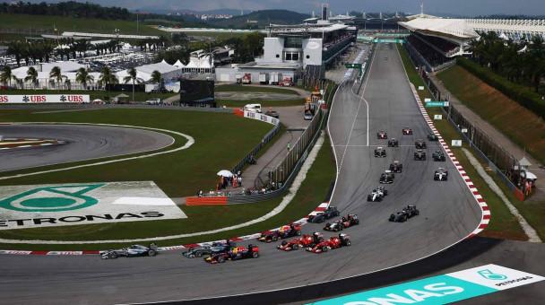 Die Strecke in Sepang bei Kuala Lumpur befindet sich seit 1999 im Rennkalender der F1.