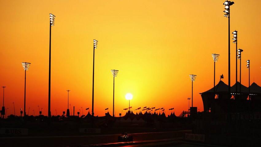 Formel 1 Strecke in Abu Dhabi