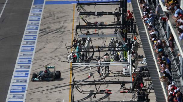 Formel 1 Strecke Austin