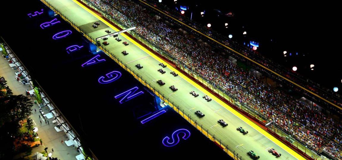 GP Singapur am 21. September 2014