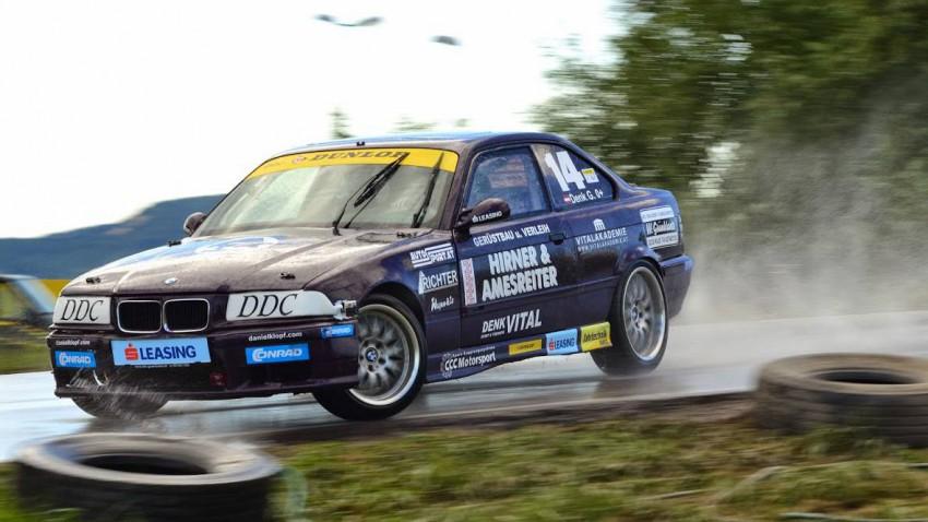 Günther Denk im BMW M3