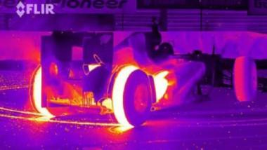 infrarot burnout flir