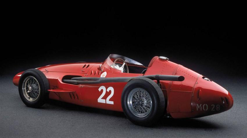 Mit diesem 250F fuhr Moss beim GP Argentinien 1956 auf Platz 2