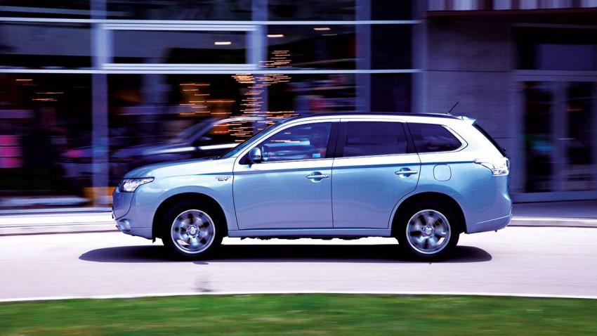 Ich fahr' Kalksburg: Mitsubishi Outlander PHEV