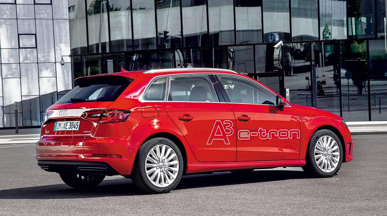 audi a3 sportback e-tron 2014 seite heck hinten