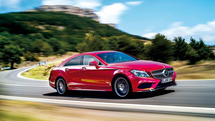 neuer Mercedes-benz cls 2014 coupe shooting brake vorne front seite