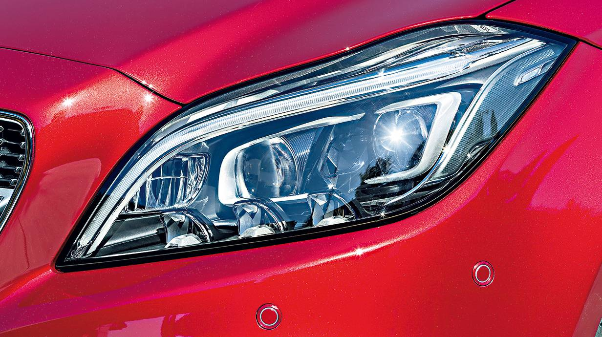 neuer Mercedes-benz cls 2014 coupe shooting brake scheinwerfer