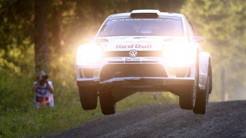 Rallye Finnland Sebastian Ogier