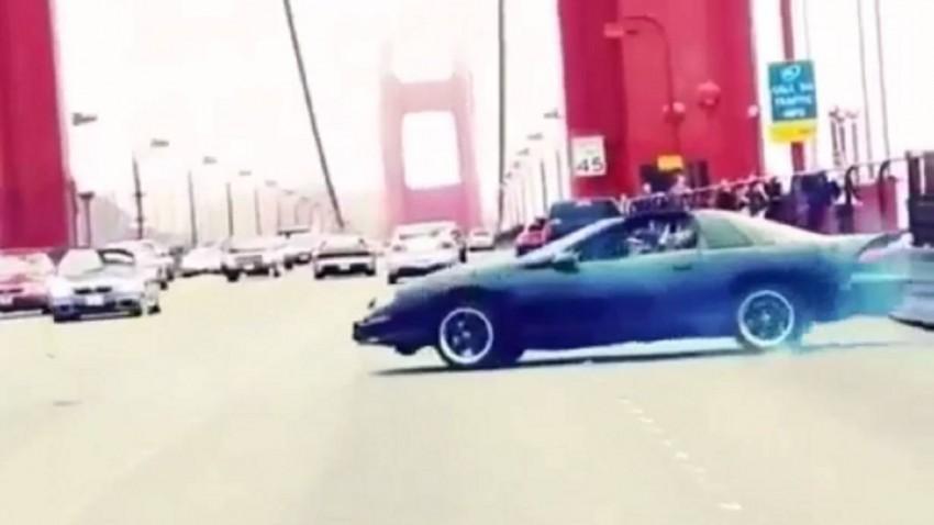 Donuts auf der Golden Gate Bridge